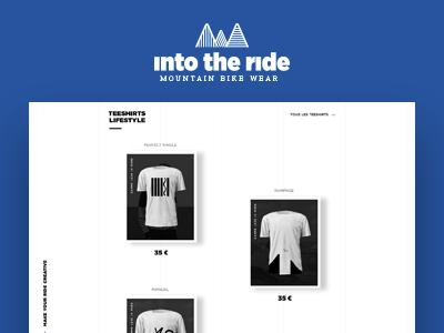Into the ride — Mountain bike wear — Website