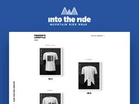 Into the ride — Mountain bike wear — Website
