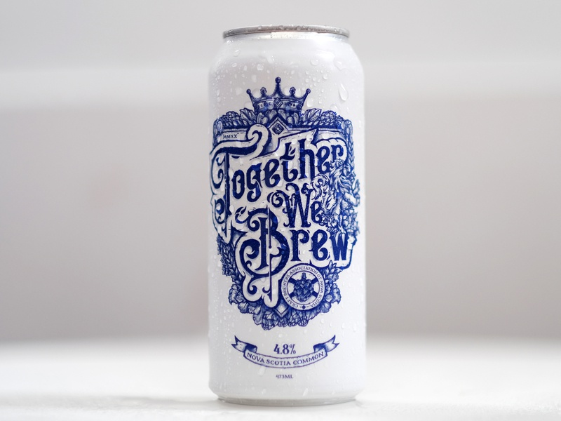 Together We Brew - Beer Can Design