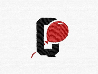 Quake Matthews Logo ligature celebrate branding red icon q balloon logo