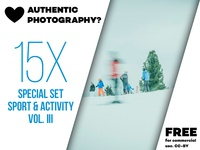 Download SPECIAL SET 15x Hi-Res images sport & activity vol. III