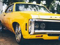US Muscle Car Oldtimer