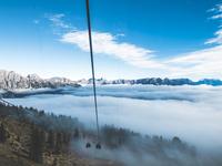 Cablecar Railway Alps