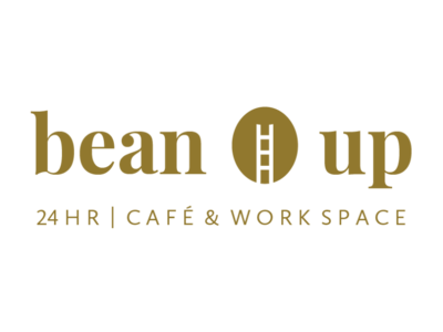 'Bean Up' Coffee Shop Wordmark Concept