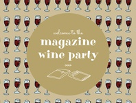 Magazine Wine Party