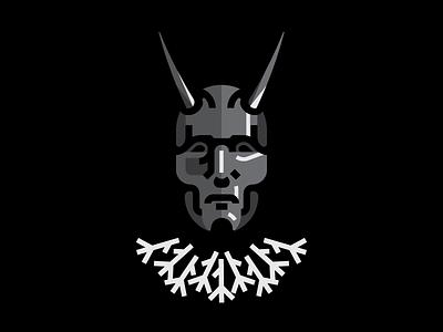Behemoth  demon horns dark blackmetal mask behemoth