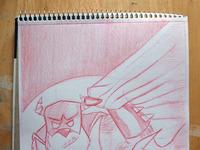 Nsmith batmon sketch