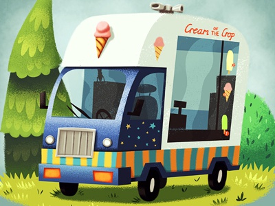 Nsmith ice cream van