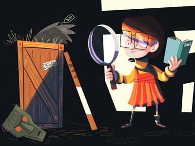 Jinkies! velma scooby doo fan art illustration character sketch dailies @sketch-dailies kid girl