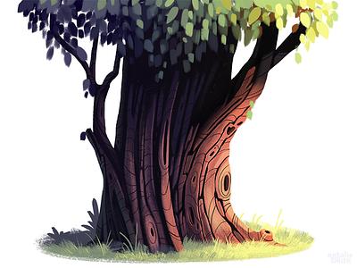 Tree Practise illustration plant tree