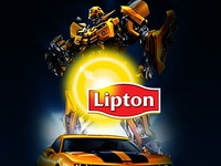 Lipton Camaro Social Media Post Designs