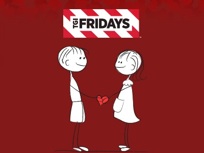 TGI FRIDAYS Valentine Campaign abdulazizportfolio hugdigital azizdeisgner tgifsocialdesign tgif-campaign tgifridays-valentine tgif dubai tgif tgifridays