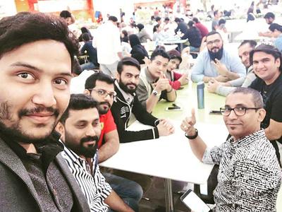 freelancer meetup in Deira City Center Dubai dubaifreelancers art directors club creatives branding dubaifreelancedesigner dubai deiracitycenter meetup freelancer