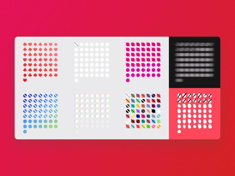 Dots Countdown design challenge dots illustration