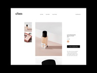 E-commerce for Nail Gel Polish beauty logo logo branding brand identity feminine minimalism packaging design fashion package design packaging beauty product nail gel beauty salon beauty e-commerce beauty shop beauty