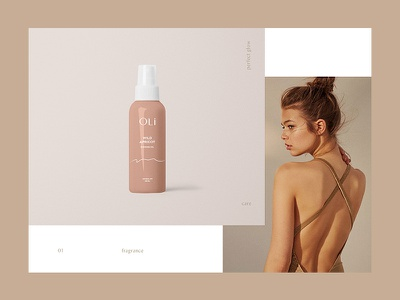Packaging for Premium Beauty Brand Oli brand product ux ui feminime minimalism branding fashion woman women tanning cosmetics packaging packagedesign package