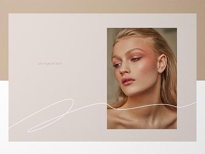 Skincare Identity for Beauty Brand Oli brand typography gentle minimal cosmetic elegance femenine logo branding package ux ui