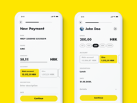 Payments pay to contact contact tags form payment order payment form contacts mbanking rba raiffeisen monese monzo n26 revolut fintech mobile banking new order payment payments