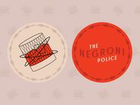 Sticker Mule x Negroni Police