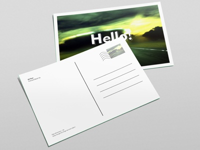 A6 Flyer Postcard Invitation Mock Up By Diephay Dribbble