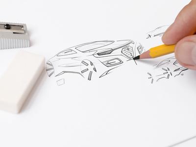 Sketchbookmock Ups photo realistic pencil paper mockups mockup mock-ups preview mock-up logo mock up