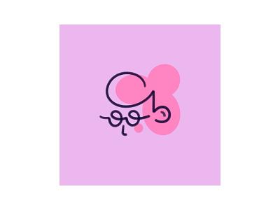 👓 haircut glasses girl ipadpro face characterdesign design character digitalart artist art procreate illustration