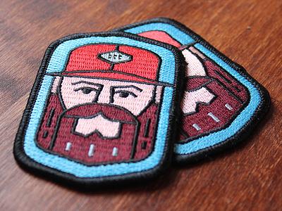 Aaron Draplin Patch badges graphic design cmyk ddc draplin design aarondraplin patch