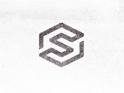 Symetrec Logo Mark icon symbol s visual idiot backgrounds wall
