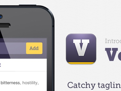 Vocaby.me iphone extension web app purple icon tool awesome secret