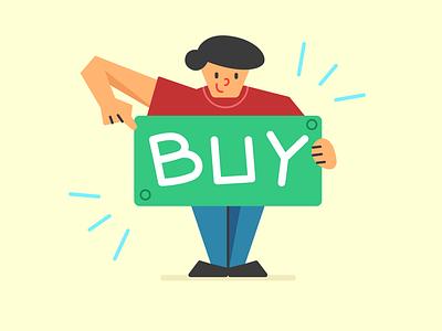 Flat Illustration for Shopping in Figma buy cta shopping graphic design vector ui illustration design