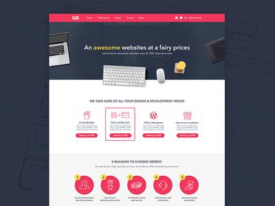 Webdo - Homepage