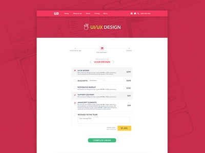 Webdo - Services cart