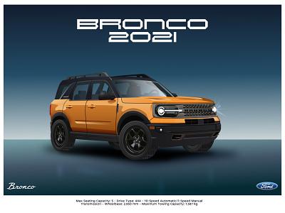 Ford Bronco 2021 sport truck tesla truck modern car new car car broncos ford bronco 2021 bronco 2021 ford mustang bronco ford ilustracion flat graphic design vector illustration