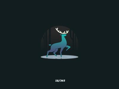 'Deer' Challenge 018/365