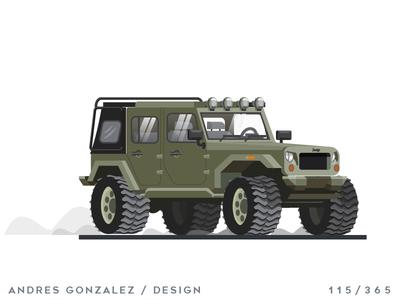 'Jeep Wrangler Rubicon' Challenge 115/365