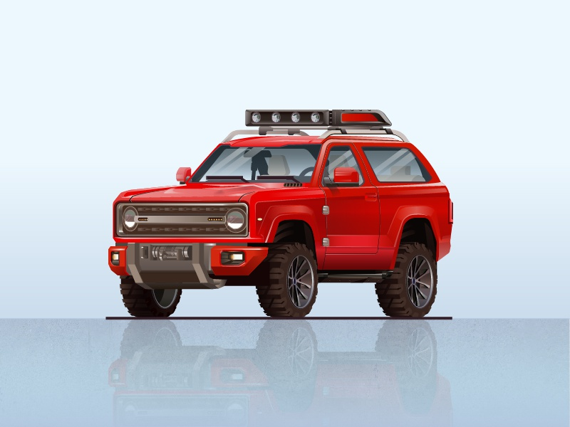 Ford Bronco 2020 Concept By Andres Gonzalez On Dribbble