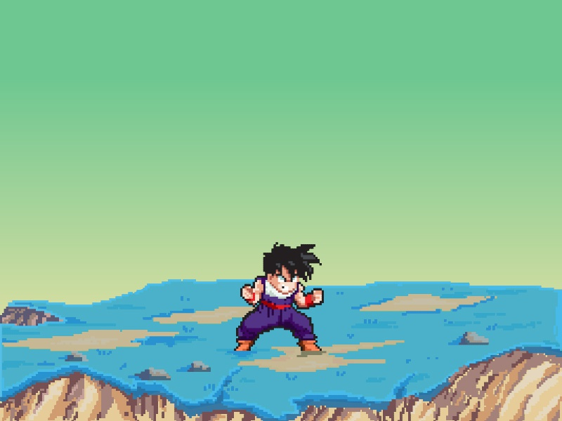 Gohan Namek Saga By Andres Gonzalez On Dribbble