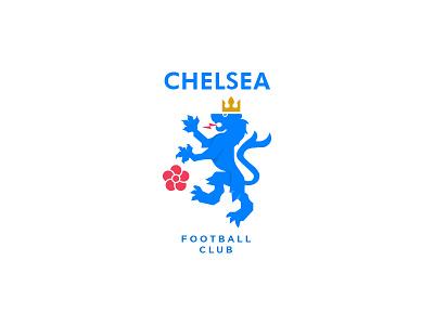 Chelsea Crest vector graphic logo illustration emblem badge chelsea soccer crest lion chelsea fc premier league
