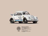 1963 Volskwagen beetle - 'Herbie'