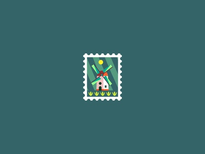 WindMill Stamp