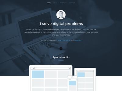 MB Portfolio portfolio front-end developer responsive