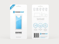 Phonesoap Blister Packaging Mockup