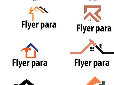 Flyer logo branding logo