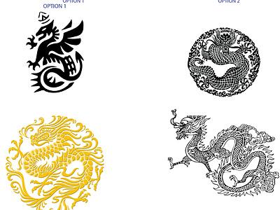 Dragon design branding motion graphics graphic design 3d animation ui