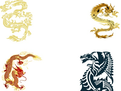 Dragon Design #2 logo motion graphics graphic design 3d animation ui