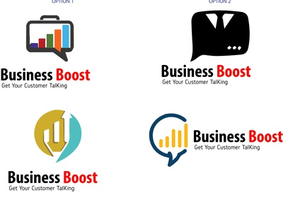 Business Boost logo design branding vector illustration logo motion graphics graphic design 3d animation ui