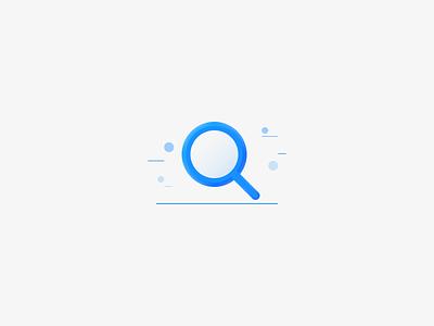 Search ui vector illustration icon design