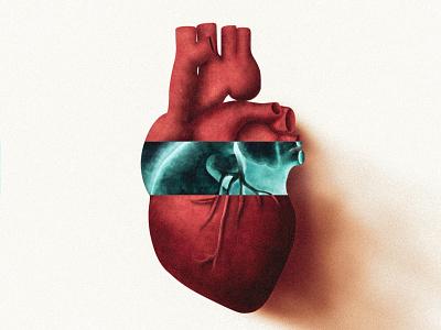 I HEART YOU vector red hearts illo illustration design heart