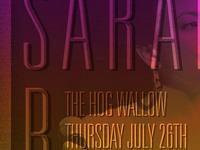 Sarah B Band poster