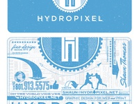 HydroPixel business card